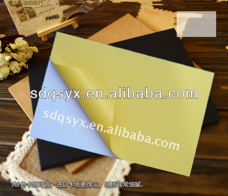 double sided self adhesive sheets for photo album, pvc sheet album making