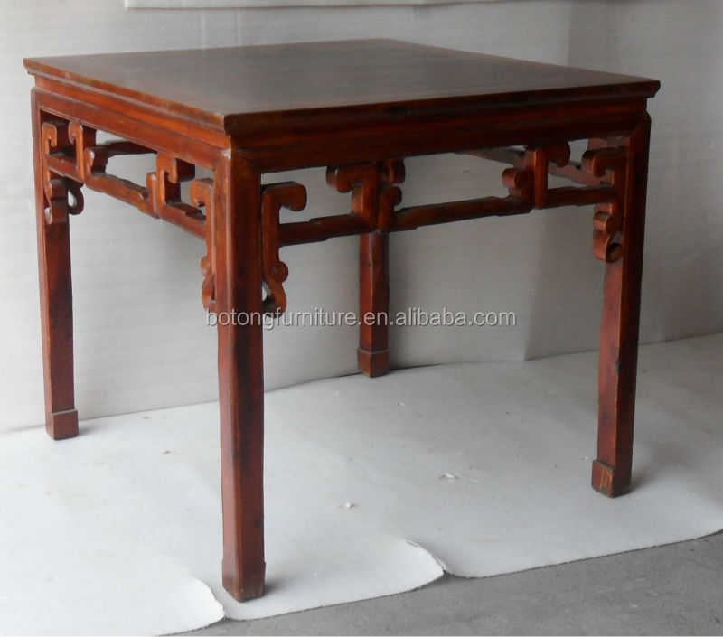 antique hand carved chinese coffee table, antique hand carved