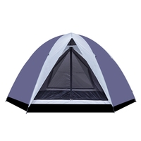 Double Layer Waterproof Camping Tent 6 Persons Outdoor Camping Tent