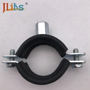 welding clamps rubber u pipe clip steel pipe clamps heavy duty pipe clamps