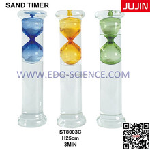 Business Gift Decorative Liquid Sand Timer Hourglass