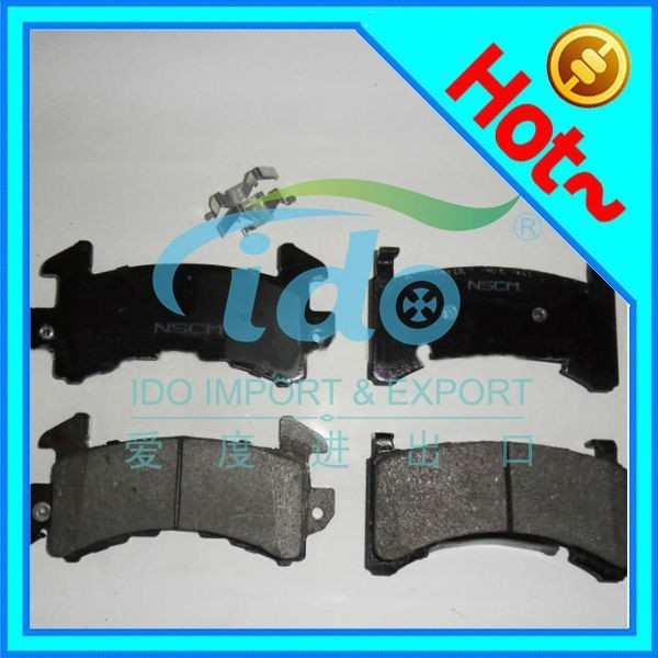 rear wheel auto parts brake pad for MASERATI Ghibli 980156042