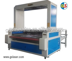CO2 Auto-feeding Laser Cutting Machine with CCD Big camera for Fabric GS1810 180W /200W for cutting small pictures
