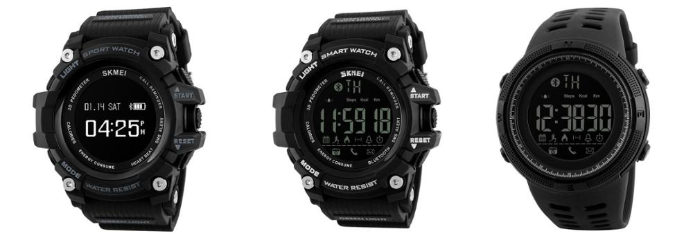 Digital watch for sport smart remote camera fashion watch hands SKMEI
