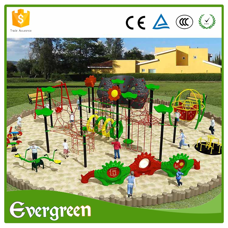 Complete function children exercise equipment climbing rope ladder set