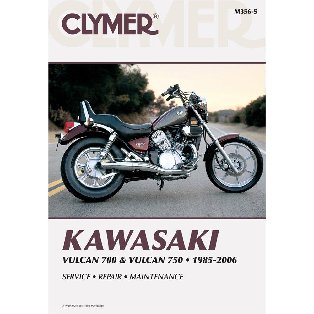 Get Quotations · Clymer Kawasaki Twins 700-750 Vulcan Manual M356-5