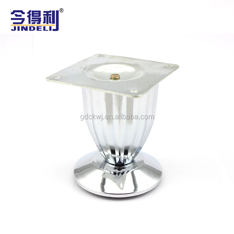 Accessories wholesale living room glass table leg risers chrome table leg brackets