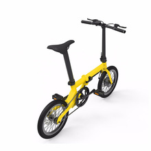 Buy 16inch Mini Ebike Rechargeable Battery Electric Bike in China