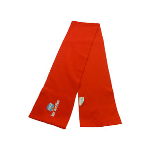 custom cheap promotional 180gsm thin soft fleece scarf