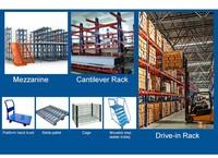 Adjustable Steel Shelving Storage Rack Shelves Supermarket ...
