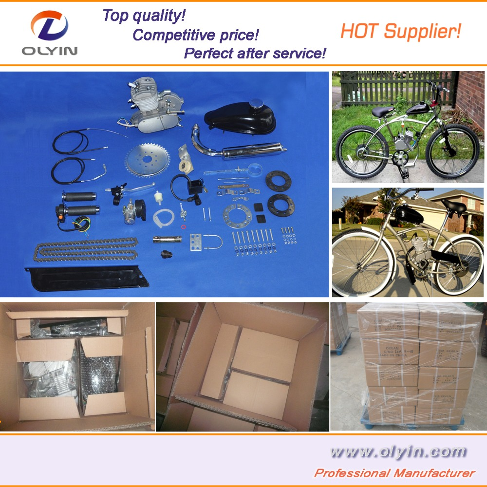 Motorized Bike Engine Kit 2-Stroke Gas Bicycle Engine Kit 48cc 60cc 70cc with CE-Approved for sale