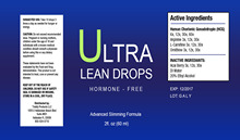 HCG Ultra Lean Fast Acting Diet Drops 2 Oz with Acai Berry with Vitamin B12 drops liquid Combo Kit.
