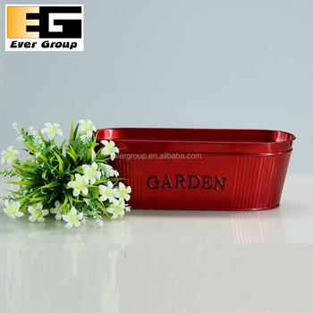 Red Embossed Black Painted Wholesale Zinc Garden Planter - Buy Red on modern planters wholesale, plastic planters wholesale, cast iron planters wholesale, urn planters wholesale, lead planters wholesale, aluminum planters wholesale, silver planters wholesale,