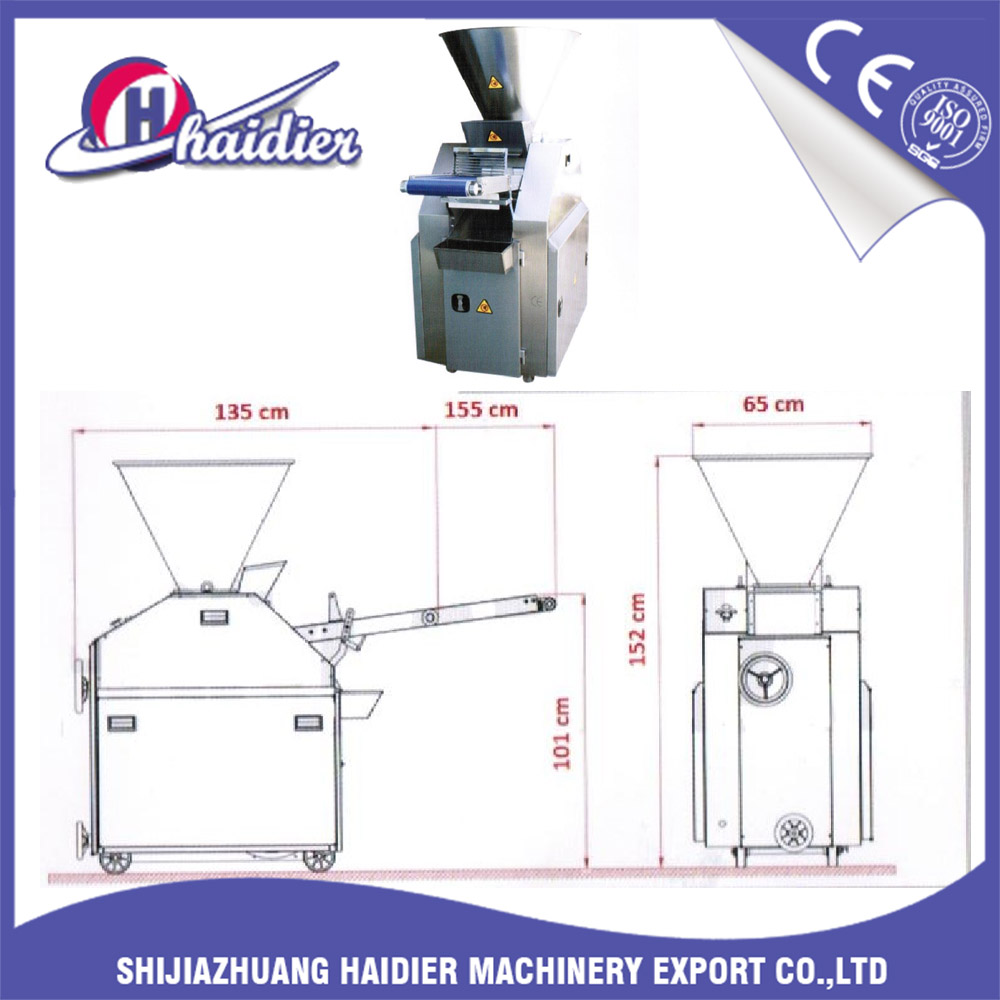 Bakery machines mp45/2 automatic dough divider rounder price