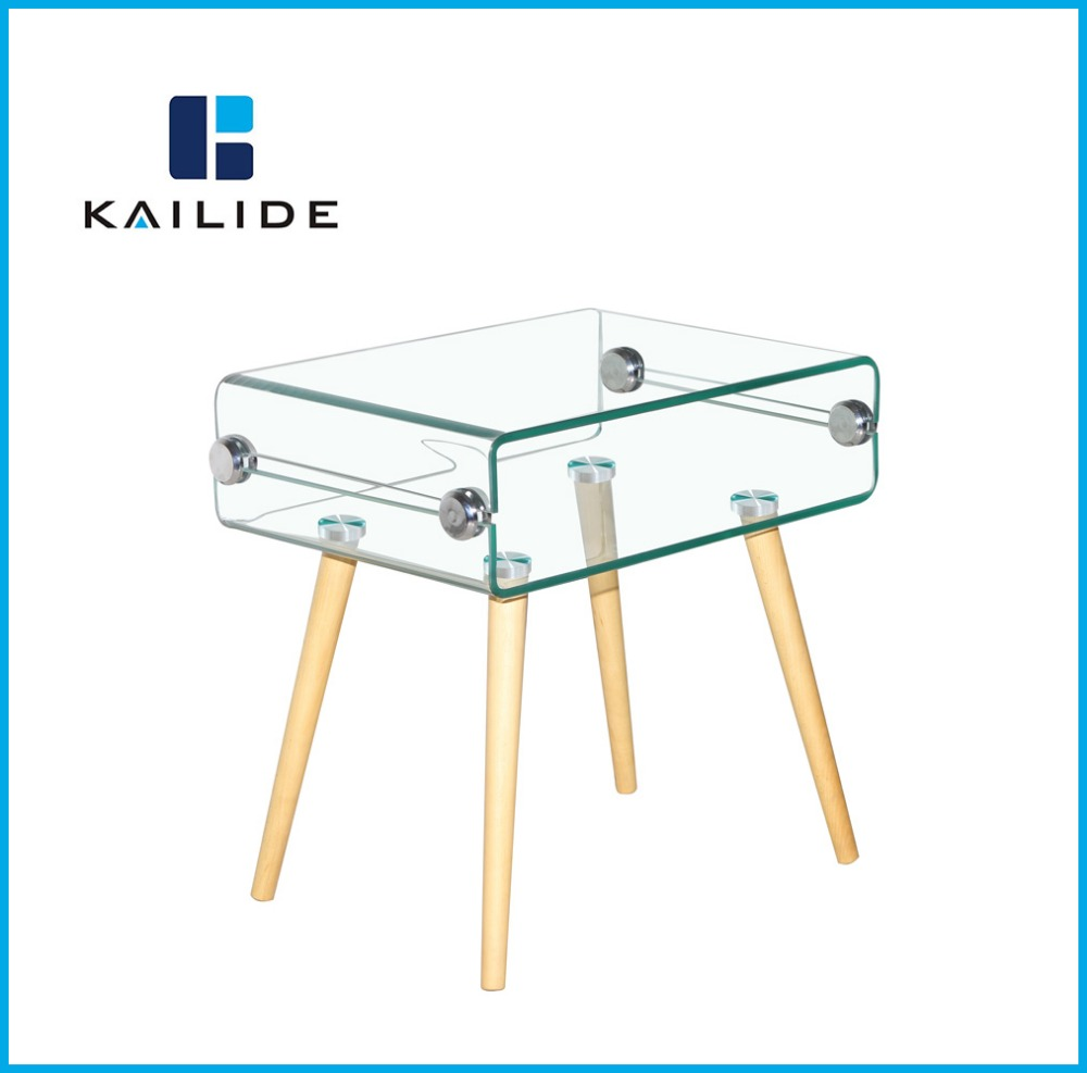 Bent Glass Corner Table Bent Glass Corner Table Suppliers and