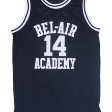 5713b92f841 Movie Will Smith NO.14 Bel-Air Academy Basketball Jersey NO.25 Carlton