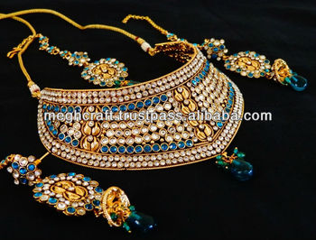 Bollywood New Designer Jewelry Sets Rajwada Style Jewelry Sets