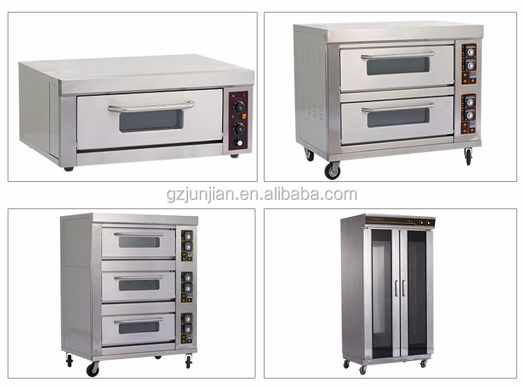 Hotel Equipment 1-Layer 2-Tray Oven For Baking Cupcakes