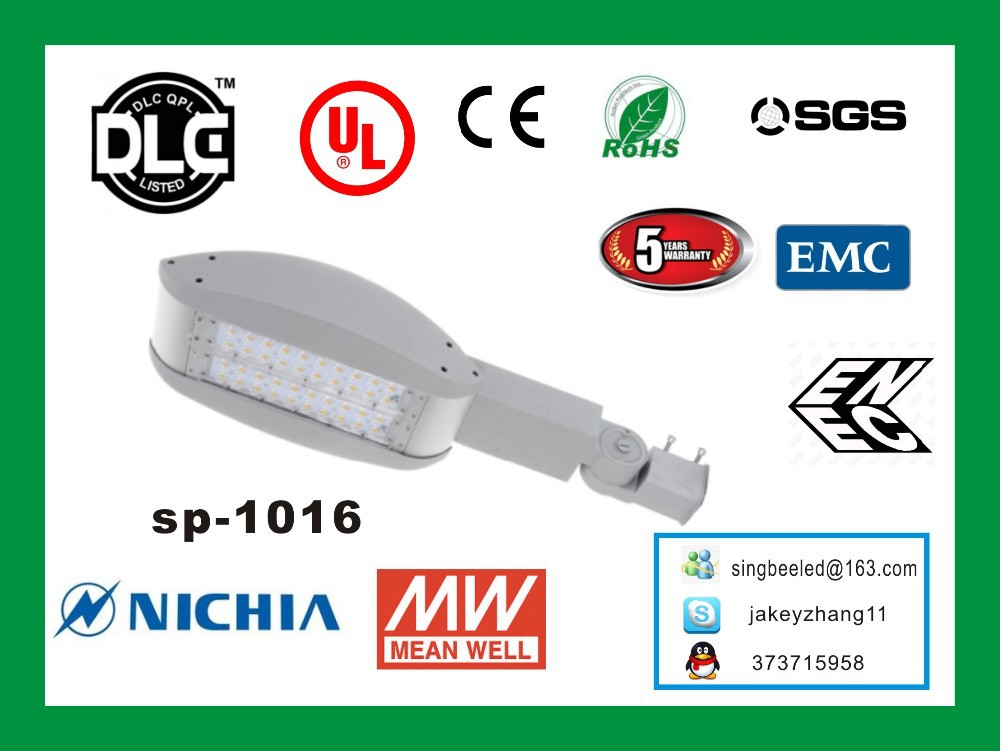 Northern Marianas Islands led street light with UL/DLC/LM79 china supplier with 5 years Warranty