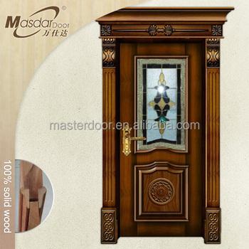 Commercial Grade Wooden Entry Door With Window That Opens Buy Entry Door With Window That