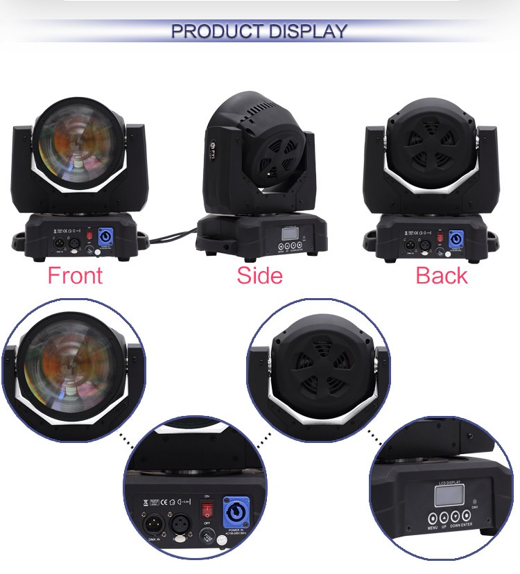 New Product FYI-B060 mini 60w led moving head light beam Light