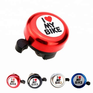 Wholesale Bicycle Bell Clear Sound I Love My Bike Printed Cute Bicycle Accessory High Quality Bike Bell