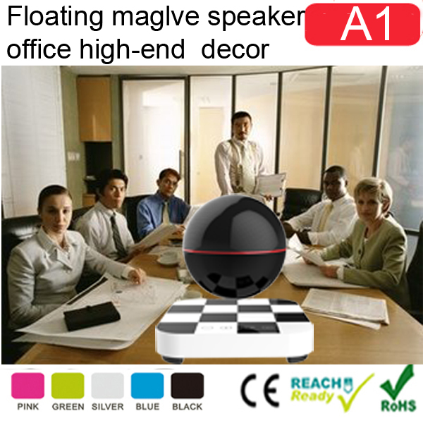 Best sounds10W floating magnetic speaker,magnetic levitating bluetooth speaker