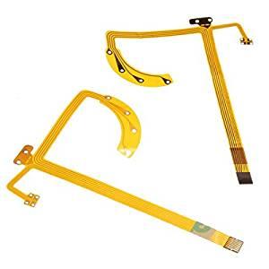 2PCS Flex Cable Aperture Shutter For Canon 24-70mm 24-70 mm 1:2.8 L DSLR Camera