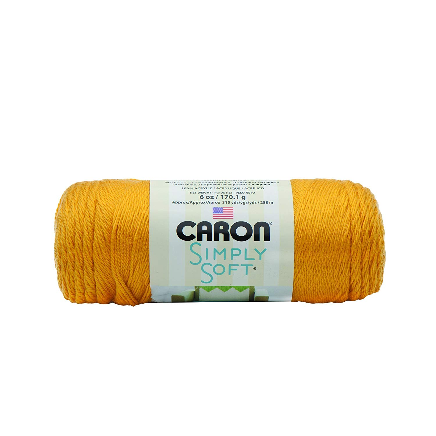 Bulk Buy: Caron Simply Soft Yarn Solids (3-Pack) Gold H97003-9782