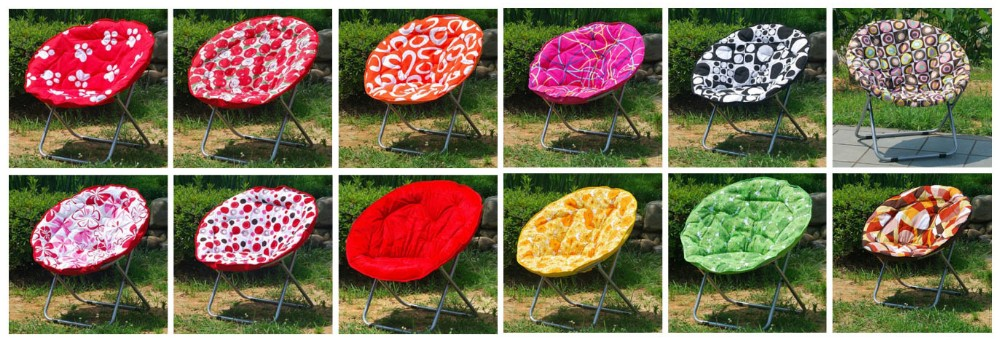 High quality folding kids moon chair,camping chair style small moon sofa chairs for promotion