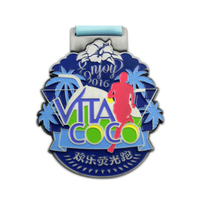 promotional gift alloy custom design medal medal in China