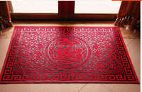 high quality chinese style classical design good luck silicone door mat
