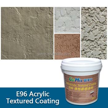 Acrylic Based Ready Mixed E96 Exterior Stucco Finishes - Buy ...