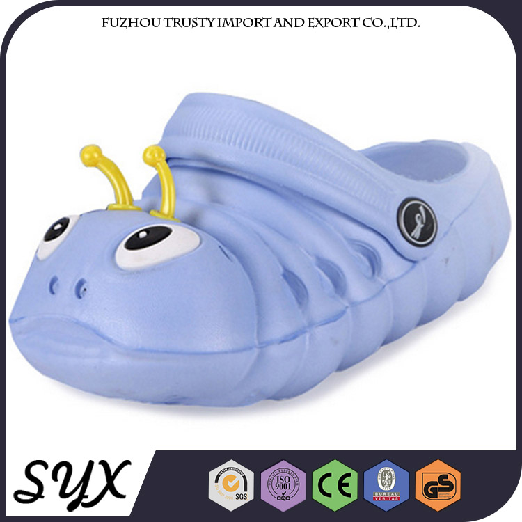 Cartoon Novelty Rubber Garden Flat Eva Clog For Kid/child Animal