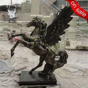 Small size height 140cm painted fiberglass jumping horse statue for sale