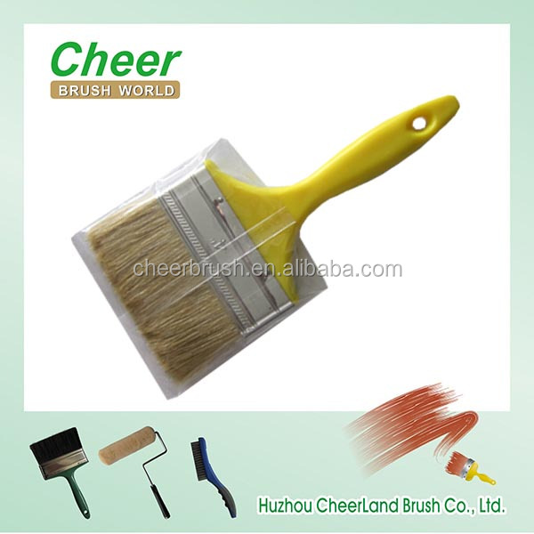 paint roller paint brush/ oil painting brush 2014 new type with plastic handle
