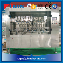 Automatic vegetable olive oil filling production machine line plant