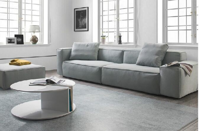 neue helle farbe stoff sofa einfachen design wohnzimmer moderne ...