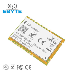 FCC/CE/RoHs E19-433M30S LoRa SX1278 10km long range wireless rf transmitter  and receiver