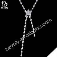 2016 new design pendent wholesale silver metal letters for necklace