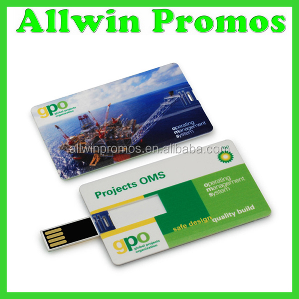 Promotional 1 GB Full-Color USB Card