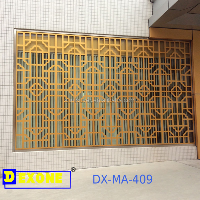 Architectural Metal Aluminum Carved Panel For Window,Fence,Facade ...