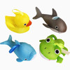 Use in bathtub easy drying soft and educational baby bath toys