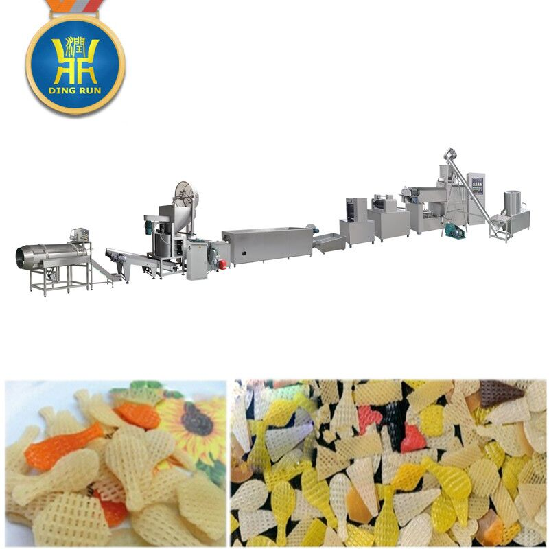 3d snacks making machine 3d pellet snacks food making extruder