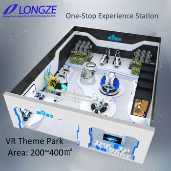 2019 One-Stop VR Experience  Solution  Virtual Reality Cinema Equipment VR Theme Park