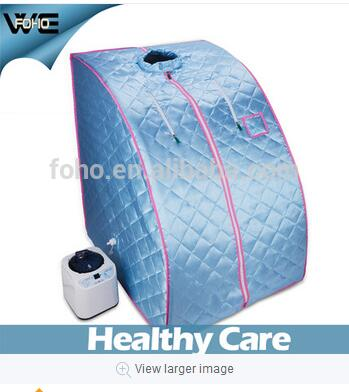 China Supplier 2019 Hot Sale Portable 2L Steam Sauna Spa Penuh Pelangsing Tubuh Berat Badan Detox Terapi