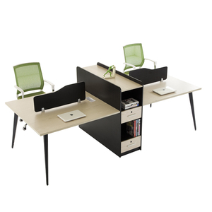 Latest design promotion office 4 seater partitions workstation