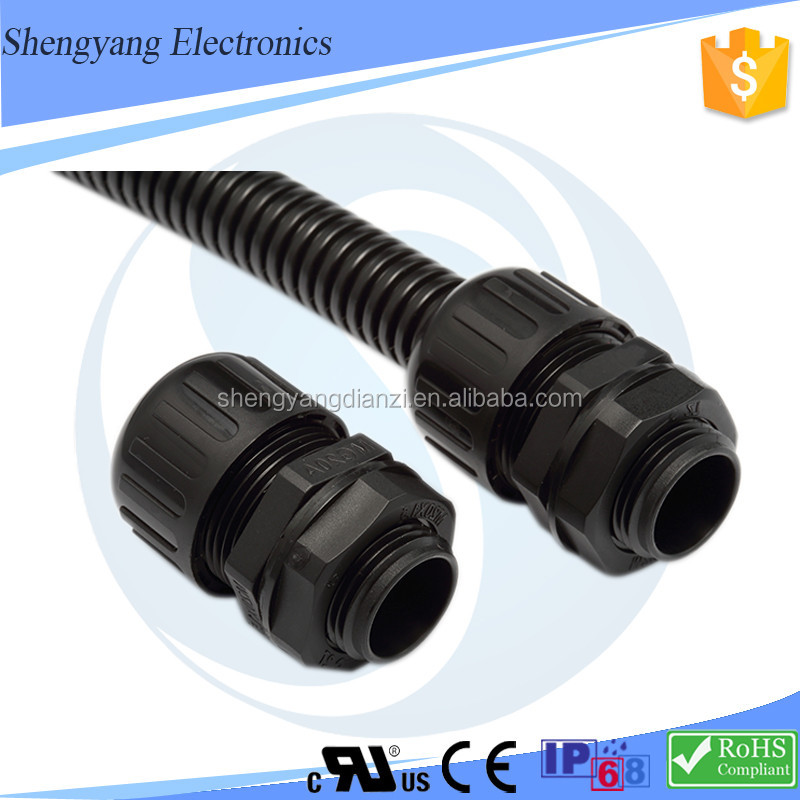 Low Price SY Names Pipe Fittings Oil Field Pipe For Sale Specification Of Flexible Waterproof Conduit Connector