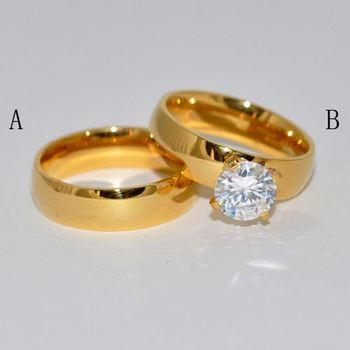 Gold Ring Designs For Male | High Quality Couple Royal Gold Ring Designs For Men In Hot Sale