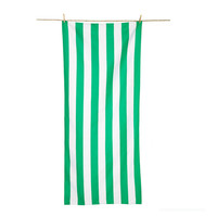 custom 6 ft printed Green and white stripes 80x160 cm microfiber bath/beach/travel/outdoor towels 100x180cm